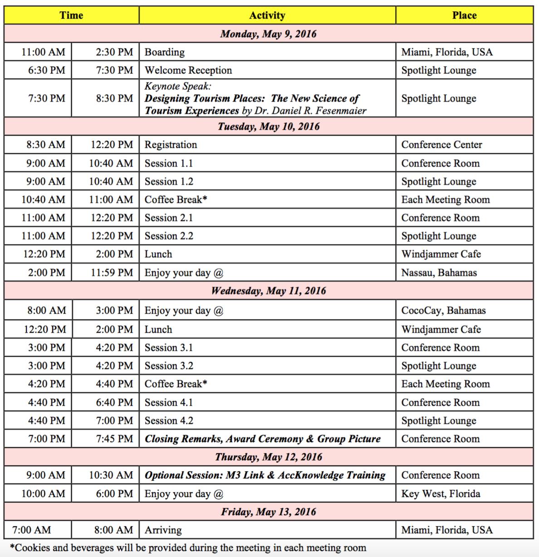 IIBA_schedule